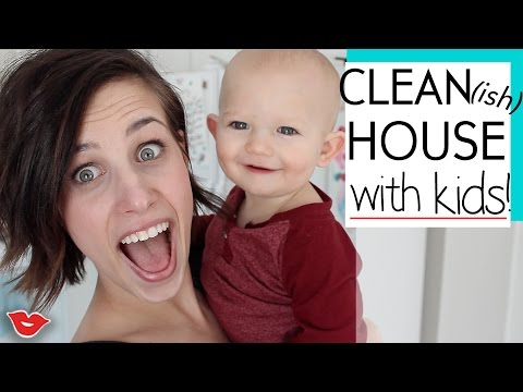How To Keep A Clean(ish) House With Kids! | Jaimie from Millennial Moms