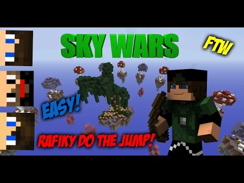 Rafiky do the Jump FTW! | SkyWars c/ XxShadowFPxX, mmatos2110 & Rhag |