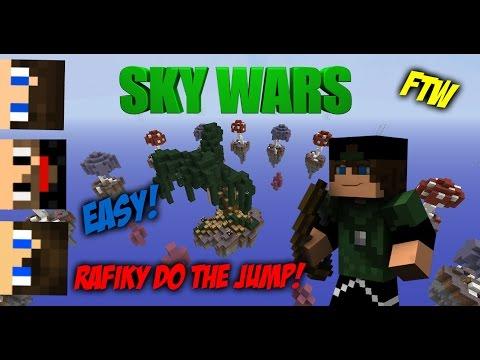 Rafiky do the Jump FTW! | SkyWars c/ XxShadowFPxX, mmatos2110 & Rhag |