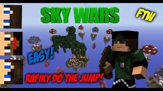 Rafiky do the Jump FTW! SkyWars c/ XxShadowFPxX, mmatos2110 & Rhag