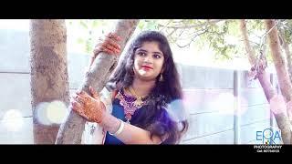 Half saree ceremony Geshna akula