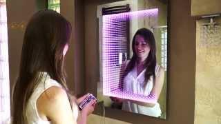 Lustro podświetlane LED 3D