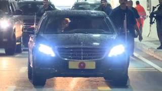 Cumhurbaşkanı Erdoğan Ovit Tüneli'nden Geçti