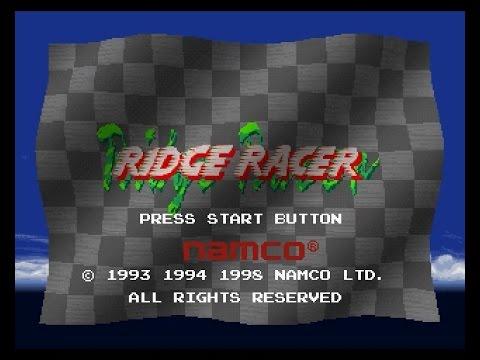 PSX Longplay [210] Ridge Racer Hi-Spec Demo