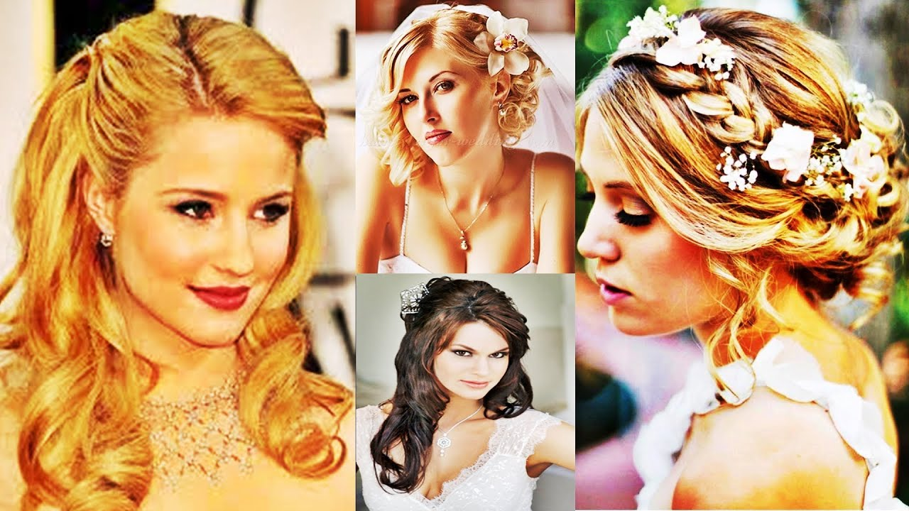 elegant wedding hairstyles for medium length hair - youtube