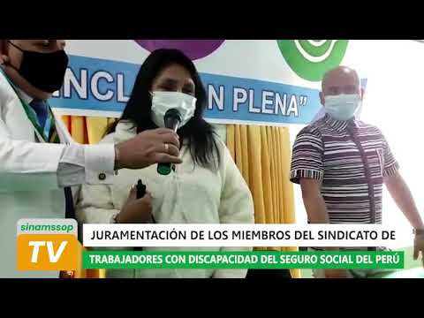 JURAMENTACIÓN DE sintradisssop