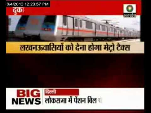 Metro tax for Lucknow residents