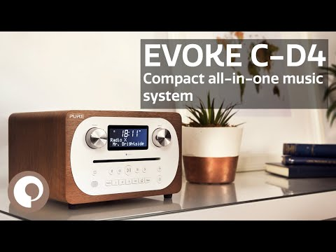 Pure Evoke C-D4 - Compact All-In-One Music System