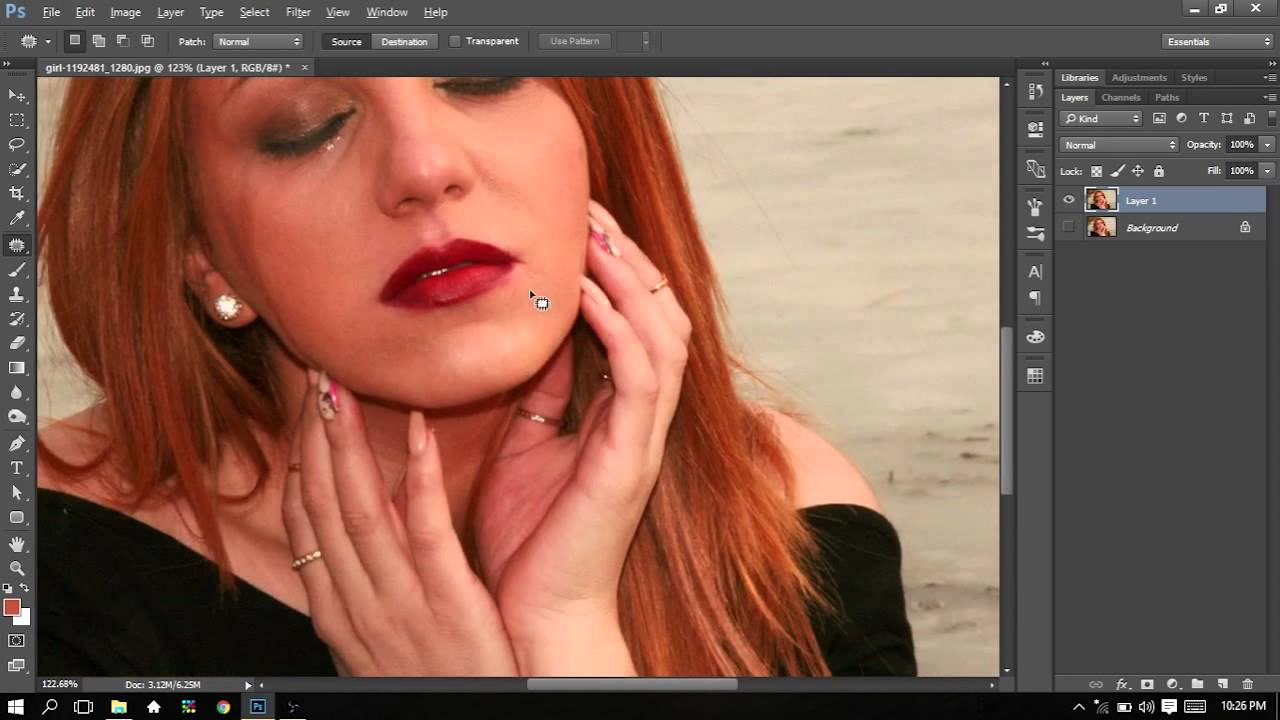 Berbagi Tutorial Photoshop Touch Up Foto YouTube