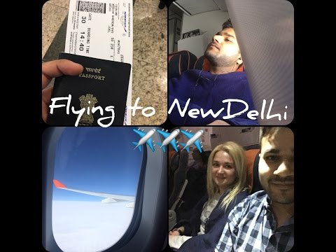 Moscow to New delhi | India Vlog 1
