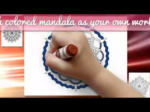 100 Mandalas To Color - Mandala Coloring Pages For Kids And Adults - Vol. 1 & 4 Combined
