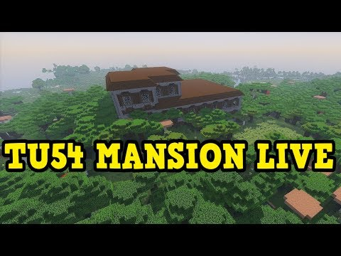 Minecraft Ps4 Xbox Tu54 Woodland Mansion Live First Attempt