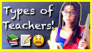 Types of Teachers | #AnishaTalks