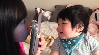 Download Video 9 month old cute happy Japanese laughing baby. MP3 3GP MP4
