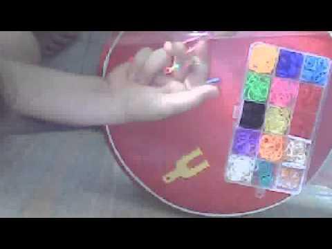 comment faire un bracelet pour pied avec chenette en elastique youtube. Black Bedroom Furniture Sets. Home Design Ideas
