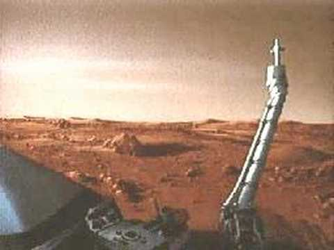 A Day On The Planet Mars : 1977 Viking Footage