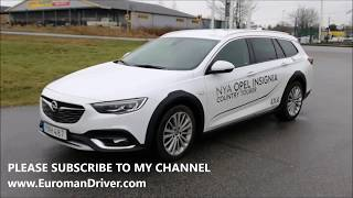 New Buick Regal TourX / Opel Insignia Country Tourer Test Drive Review - Vauxhall...