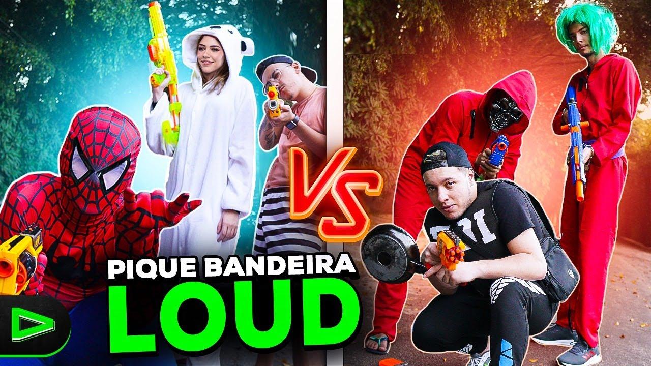 CLIMA ESQUENTOU!! PIQUE BANDEIRA NA LOUD
