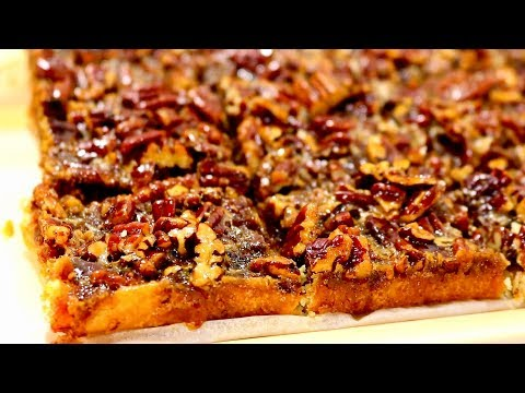 Pecan Pie Bars | Kitchen Time With Neha