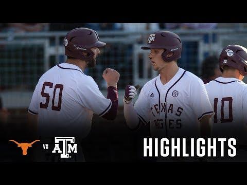 Baseball: Highlights | A&M 6, Texas 5
