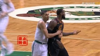 LeBron James Gives Jayson Tatum A Respect After Saved Him On The Fastbreak!