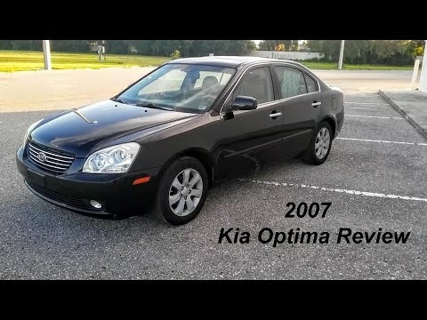 2007 kia optima ex review sedan review youtube. Black Bedroom Furniture Sets. Home Design Ideas