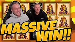 MASSIVE WIN! Book of Ra Classic BIG WIN - Huge win on Casino games from CasinoDaddy