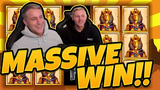 MASSIVE WIN! Book of Ra Classic BIG WIN - Huge win on Casino games from CasinoDaddy