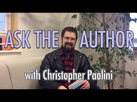Christopher Paolini #AsktheAuthor | Listening Books