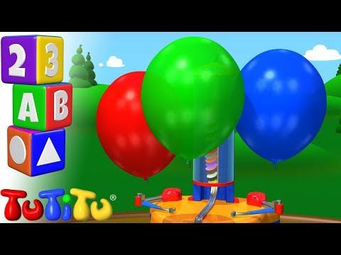 Culorile De învățare în Limba Engleză | Masina Cu Baloane | TuTiTu Preşcolar