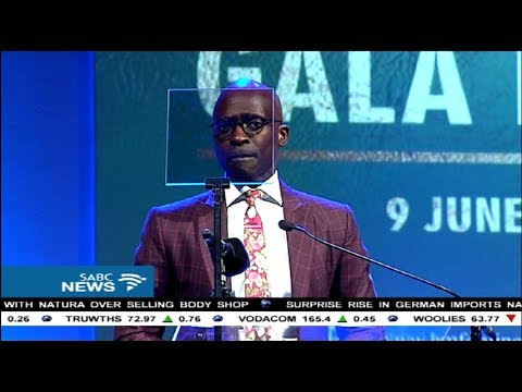 Malusi Gigaba addresses the BMF corporate update dinner