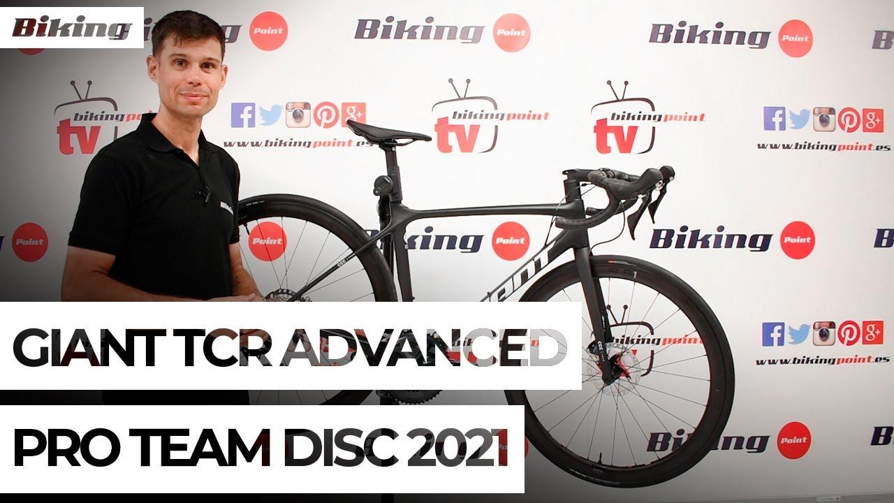 Bicicleta Giant TCR Advanced Pro Team 2021 | Presentación