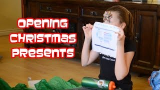 Opening Christmas Presents 2015   Gymnastics Gifts and More   Bethany G