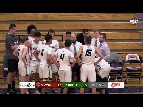 Carmel vs Liberty Ranch High School Boys Basketball LIVE 11/30/19