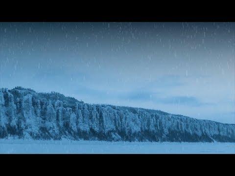 """Горная стена в Якутии, напоминающая Стену из """"Игры престолов"""""""
