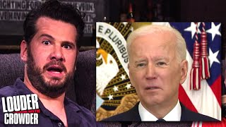 Crowder TAKES OVER Biden's 1st Press Conference! | Louder with Crowder