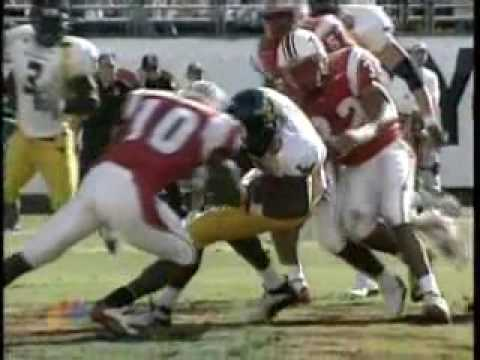 Madieu Williams causes fumble vs. West Virginia 2003