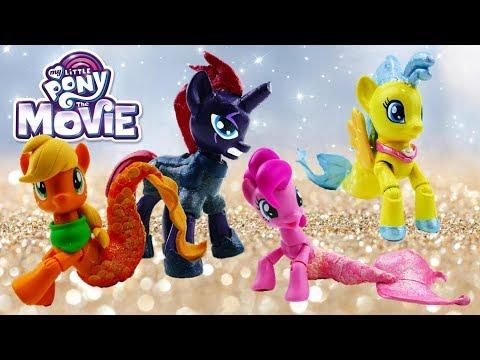 Compilation MLP Sea Pony Pinkie Pie Princess Skystar Applejack Tempest Shadow Custom Pony