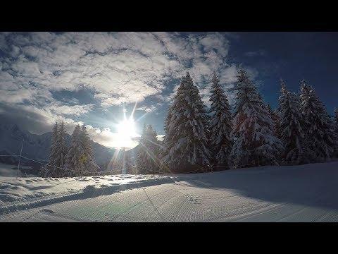 Piste Ski Chateluy/Finance Saint Gervais Mont Blanc Hiver 2017/2018