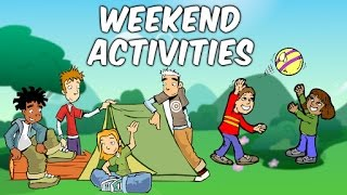 Activities For Kids | Weekdays & Weekend Activities For Kids | Educational Videos