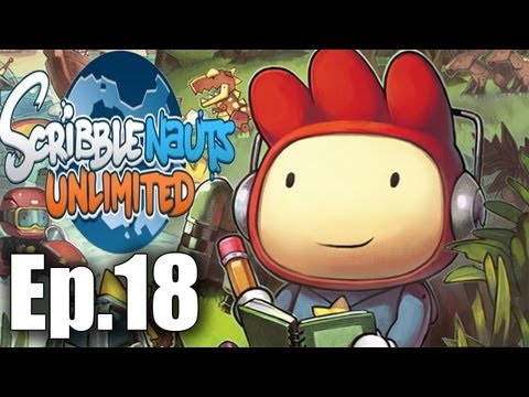 Scribblenauts unlimited Playthrough Ep.18 More underwater missions