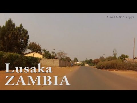 Dash Cam  -  In a Taxi  -   Lusaka, Zambia  - October 2016