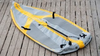 The TIWAL Inflatable Sailing Dinghy