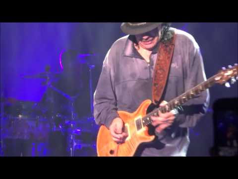 Santana- Europa Earth's Cry, Heaven's Smile (live) Bayou City Music Hall Houston, Tx  Oct  1, 2014
