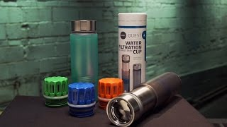 The Holy Grayl of Water Filters(An innovative duo showcase their new brand of water filtration system: Grayl. Grayl is a water filter that works much like a French press does for coffee. But can ..., 2015-02-04T17:00:11.000Z)