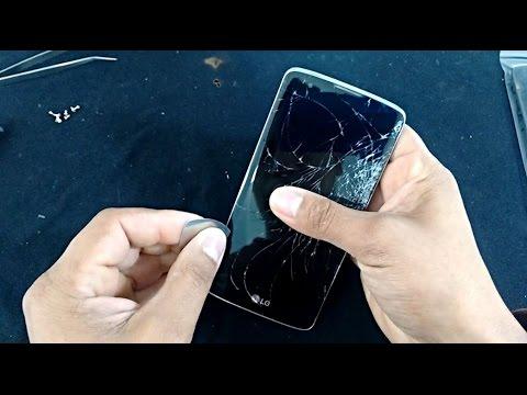 c2263255935 Troca de Display LCD Touch Screen e Desmontagem LG K8 K350, K350ds, K350n,  Desmontar, Reparar. Willians Celulares