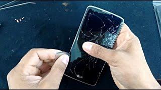 Troca de Display LCD Touch Screen e Desmontagem LG K8 K350, K350ds, K350n, Desmontar, Reparar