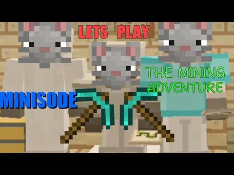 Let's Play Minisode - The Mining Adventure! Ft. Animal Builders & MiguelYT | Minecraft Wii U
