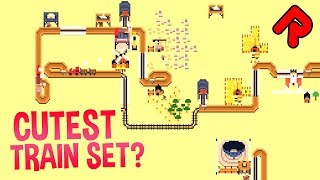 SOKO LOCO: Cutest Train Set Ever? | Mini-Transport Tycoon PC game | Soko Loco gameplay