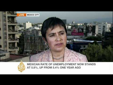 Many turn to 'informal' work in Mexico